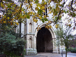 The Abbey Gate