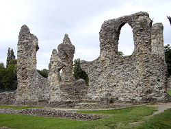 Ruins of Bury St Edmunds Abbey