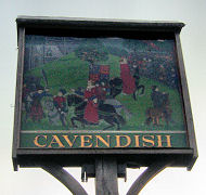The Cavendish Village Sign