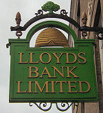 The Lloyds Bank Sign