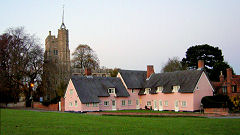 The Pink Houses and Church, Cavendish